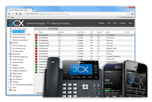 3cx VOIP phone systems